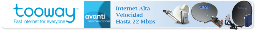 Adsl Satelite Bidireccional. Internet por Satelite